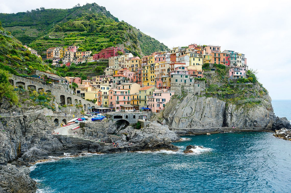 cinque terre day tour from florence with boat trip
