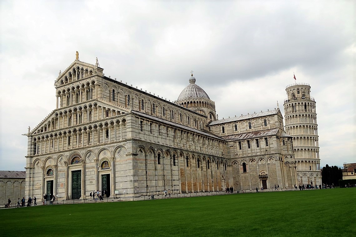 pisa duomo and leaning tower tour