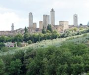san gimignano tuscan hill town